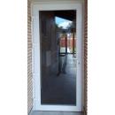 099x209 PVC Puerta de entrada con vidrio izquirda