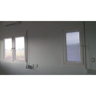 Plissee für Fenster 0,61x1,17 (festglas)