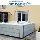 AIDA Whirlpool Playa smartrelax Carrara White (12.500US$)